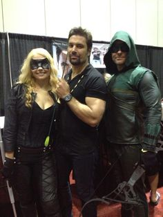#cw #arrow #manubennett #blackcanary #megacon