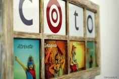 Proyecto de decoración con muebles reciclados de Las Tres Sillas para la empresa Coto Consulting en Valencia Magazine Rack, Frame, Valencia, Furniture, Home Decor, New Trends, Recycled Furniture, Chairs, Objects