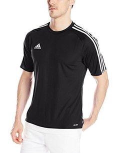 adidas Performance Men's Estro Jersey X-Large Black/White