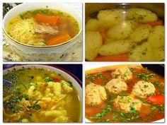 Recepty - Strana 30 z 100 - Vychytávkov My Recipes, Soup Recipes, Dinner Recipes, Cooking Recipes, My Favorite Food, Favorite Recipes, Soup Dish, Hungarian Recipes, Low Calorie Recipes