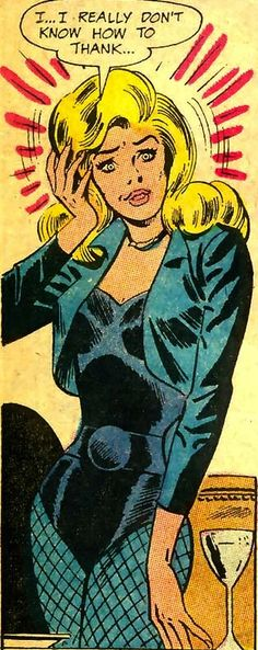 Black Canary —Justice League of America #78 (1970) by Denny O'Neil & Dick Dillin