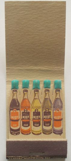 KIST SODA | what a lovely matches, I used to collect matches. After I saw this ones ...  New collection starts right now :-)