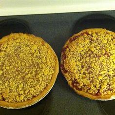 Crumb-Topped Strawberry Rhubarb Pie Allrecipes.com