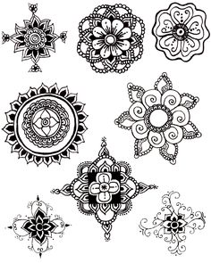 coleta de mandalas schablone tattoo muster und alte cds. Black Bedroom Furniture Sets. Home Design Ideas
