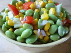 Edamame & Corn Salad * used Lima beans