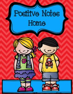 This is a quick way to send a note home at the end of the day to let parents know their child is doing a great job. This product contains one note with the option of printing it in red, yellow, blue, and/or white.