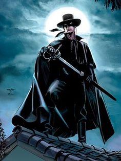 "TIL Zorro is actually Spanish word for ""fox"" and not a made up name. Tarzan, Comic Movies, Comic Books, Comic Art, Zorro Costume, The Legend Of Zorro, The Mask Of Zorro, Phantom Comics, The Lone Ranger"