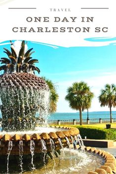 The ultimate itinerary for one day in Charleston! We've put together the top things to do in Charleston so that you can make the most of a short trip here. #charleston #us #travel #america #southcarolina #usa Travel Inspiration, Travel Ideas, Travel Tips, Christmas Travel, Travel Destinations, Winter Destinations, Short Trip, United States Travel, Best Places To Travel