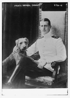 Father of Prince Philip, husband of Queen Elizabeth II of England.