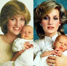 Princess Diana with her sons Prince William and Prince Harry. Princess Diana Family, Royal Princess, Prince And Princess, Princess Of Wales, Lady Diana Spencer, Diana Son, Windsor, Royal Family Pictures, Royal Families