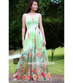 Green Dress Prom Maxi Bridesmaid Plus Size Graduation Summer Sundress Sexy