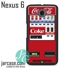 Vending Mechine Cocacola Phone case for Nexus 4/5/6