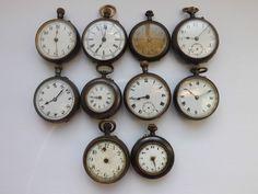 Pocket Watches, Clock, Metal, Watch, Pocket Watch, Clocks, Metals