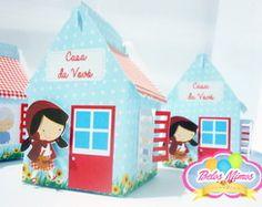 Casa da Vovózinha - Chapeuzinho Vermelho
