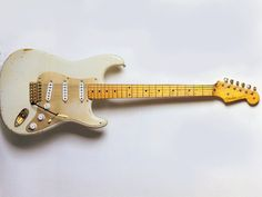 David Gilmour's 1954 Fender Stratocaster.  serial number 0001! The very first production stratocaster