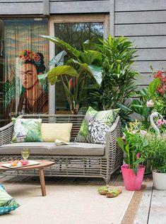 Los motivos tropicales son tendencia en decoración para verano 2015 #tendencias #decoracion #verano2015 #summer2015