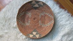 SALE African Basket / Tray from Botswana by IraRed on Etsy, $70.00
