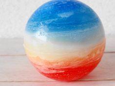 青空と夕日の惑星キャンドル C-30