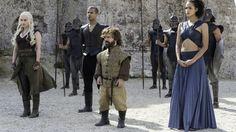 Daenerys Targaryen, Grey Worm, Tyrion Lannister, Missandei, Game of Thrones, Season 6