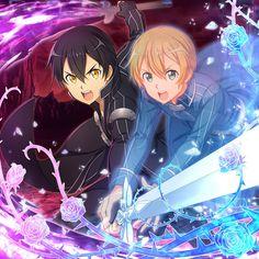 Sao Anime, Otaku Anime, Kunst Online, Online Art, Eugeo Sword Art Online, Kirito Sao, Sword Art Online Wallpaper, Anime Art Girl, Nature Wallpaper