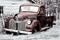 Old Rusty Abandoned