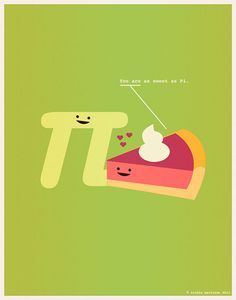 Amor geek: You are sweet as Pi