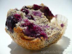 Essen aus Engelchens Küche: Heidelbeer-Mohn-Muffins - zur Feier des Tages