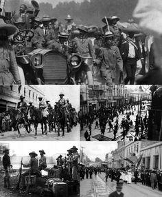 Decena Trágica Febrero 1913. Centro Histórico Ciudad de México