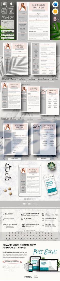 Creative Resume for Word & Pages #StationeryTemplates #professionalresume #marketingresume #infographic #ResumeFormat #StationeryTemplate #BestResumeFormat #StationeryTemplates #word #ResumeHelp #cvtemplate #salesresume #stationery #CvTemplate #CvDesign #fashionresume #retailresumesales #editableresumetemplate Stationery Printing, Stationery Templates, Stationery Design, Marketing Resume, Sales Resume, Cv Design, Resume Design, Cv Template, Print Templates