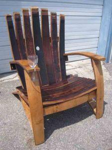 7 Stave Adirondack Chair