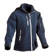 Kuvahaun tulos haulle navy blue women softshell jacket