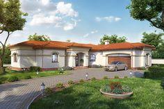 projekt Hortensjów DM-6595 KRF2695 Home Fashion, Mansions, House Styles, Home Decor, Art, Projects, Art Background, Decoration Home, Manor Houses