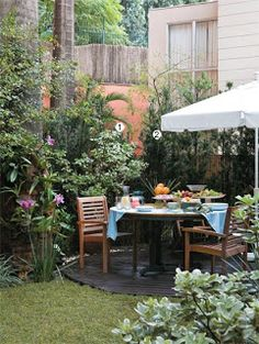 O Jardim que te faz bem ...: Jardim para receber