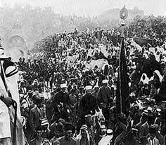 Bloody Passover Riots of 1920. Amin al-Husseini incites the Muslim mobs in protest against the Balfour Declaration.  Ze'ev Jabotinsky and others were arrested for creating a self defense league in response to the Muslim brutality against Jews. These developments led to the founding of the Haganah on June 15, 1920. More violence against Jews followed in the next few years (at least 47 Jews killed and 140 wounded) and the British responded by appeasing the Muslims and curtailing Jewish…