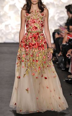 Naeem Khan Spring/Summer 2015 Trunkshow Look 35 on Moda Operandi