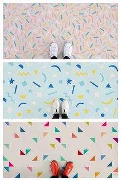 Colourful Children's Flooring