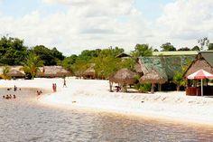 White beach in Paramaribo, Suriname- my mother land.