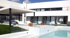 Luxury villa for rent in Ibiza near San Antonio, with private infinity pool, Spain