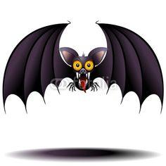#Funny #Bat #Vampire #Cartoon-#Vector © bluedarkat #44553162 -     http://us.fotolia.com/id/44553162/partner/200929677
