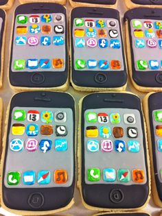 iPhone Cookies! -HayleyCakes and Cookies Brought to you by www.cpscentral.com - Extended Warranty Plans