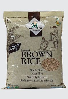 24 Mantra Organic Brown SonaMasoori Rice 2.2lb by 24 Mantra -- Awesome products selected by Anna Churchill