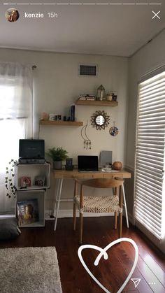 Room Goals - Bright Idea - Home, Room, Furniture and Garden Design Ideas Indie Room Decor, Aesthetic Room Decor, Room Decor Bedroom, Bedroom Furniture, Bedroom Ideas, Furniture Design, Kenzie Ziegler, Home Design, Modern Design