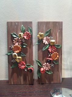 Clay Wall Art, Clay Art, Diy And Crafts, Arts And Crafts, Polymer Clay Tools, Ceramic Flowers, Sustainable Design, Clay Creations, Flower Making