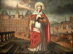 St Genevieve, patroness of Paris