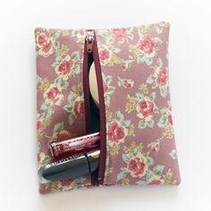 DIY makeup bag