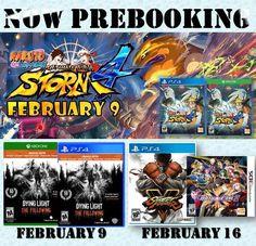 Lanzamientos Nuevos! Vaya a la sección de nuevo lanzamientos de nuestro sitio web y pre-ordénalo!   http://www.latamgames.com/master_es.php @Latamgames #mayorista #distribuidores #videojuegos #jogos #xboxone #xbox #xbox360 #ps3 #ps4 #ps2 #psv  #psvita #3ds #wii #wiiu #juegos #mayoristadevideojuegos #distribuidoresdevideojuegos #ventasdevideojuejos #Naruto #NarutoShippuden #ProjectX #StreetFighter #DyingLight