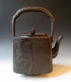 Tetsubin Iron Kettle Meiji period