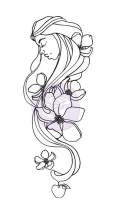 Prima Flowers EVE Creating In Faith Cling Stamps 980672 zoom image