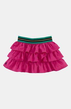 Ralph Lauren Tiered Skirt (Toddler Girls)