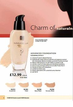 I love FM Make-Up Advanced Foundation. It is the best foundation I ever tried, I love it's texture, it is very easy and comfortable to get it on and it smells gorgeous! I know quite a few FM distributors, who use FM Advanced Foundation and love it the same way I do. There are some professional beauticians, who switched their usual over-priced foundation to FM one and compares it to the highest quality make up products in the world!     Diana Simkauskaite  Pearl Orchid
